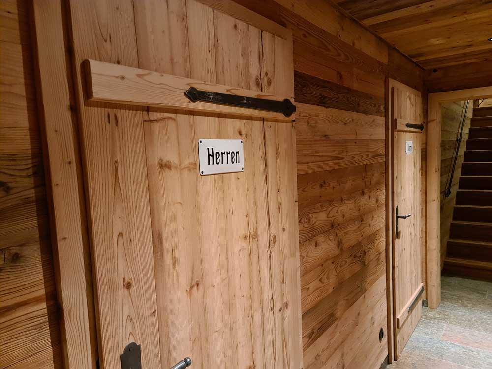 Einzelzimmer mit Gemeinschaftsbad