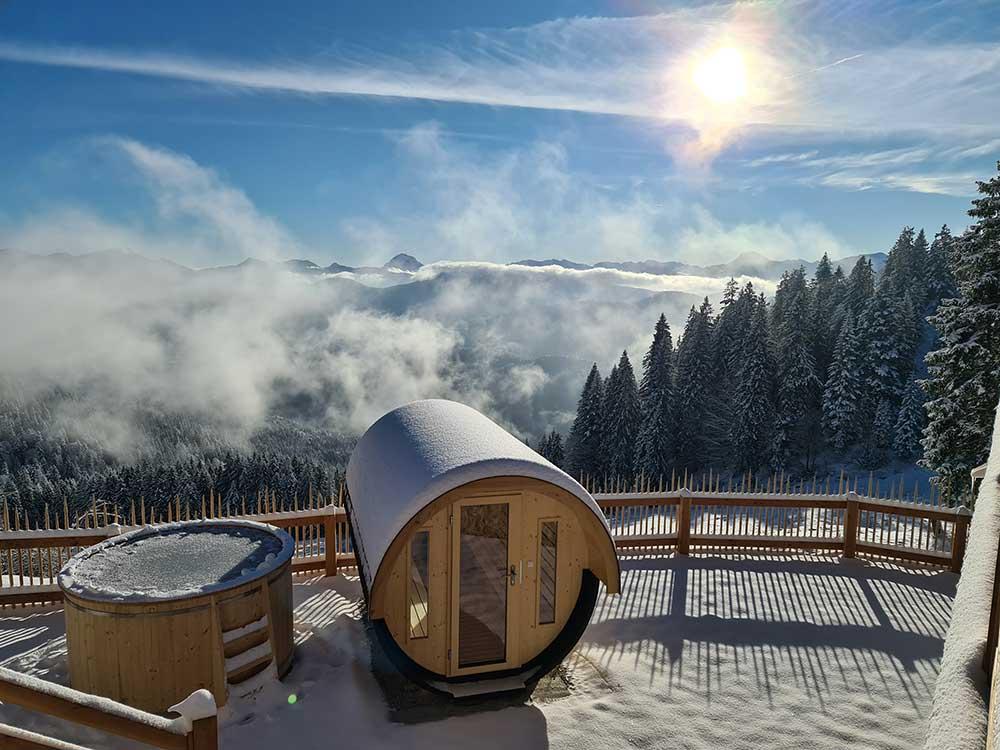 Fasssauna Bayernhütte am Brauneck