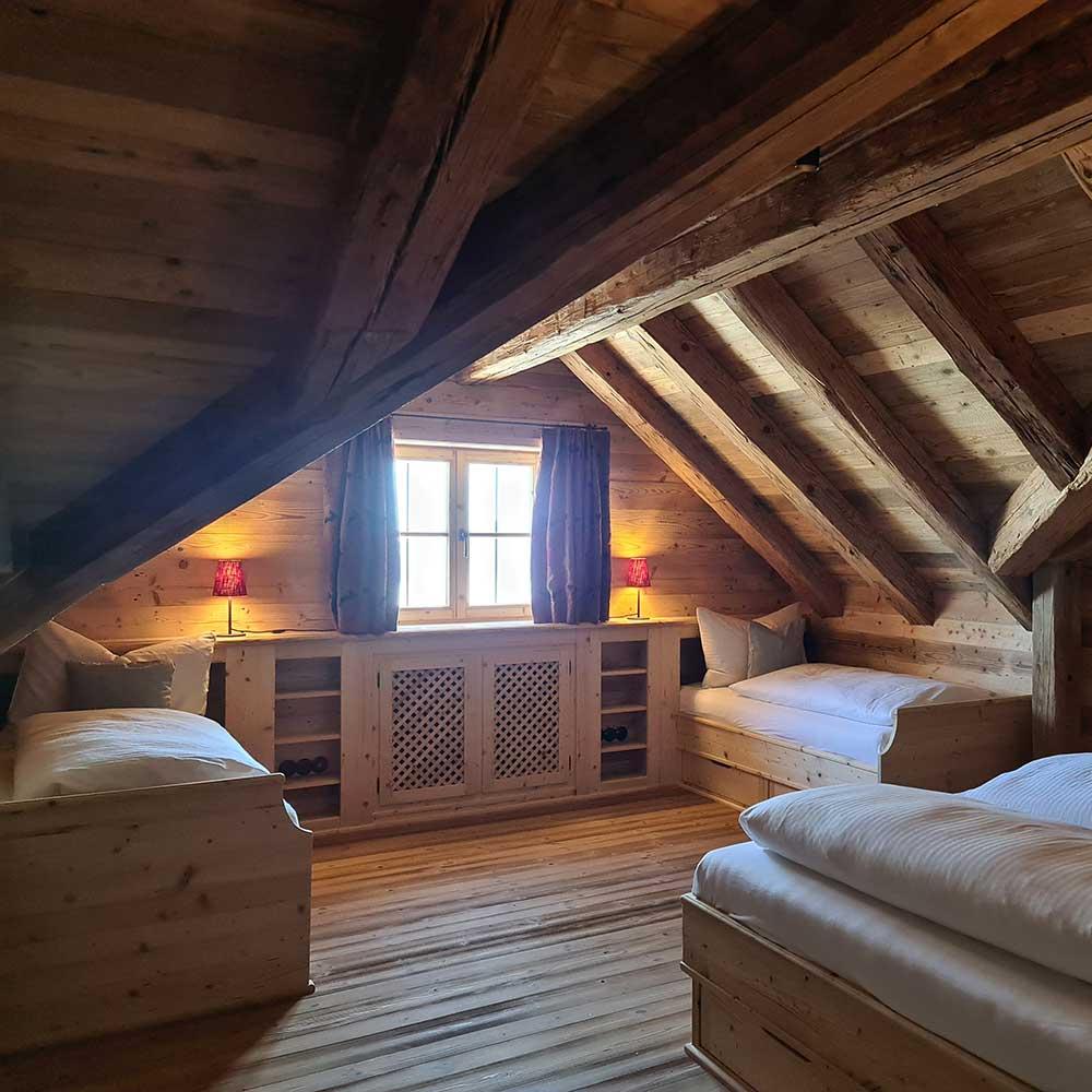 Schlafgenuss Bayernhütte am Brauneck